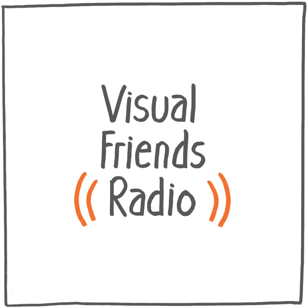 Visual Friends Radio - Cover
