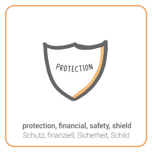 protection, financial, safety, shield