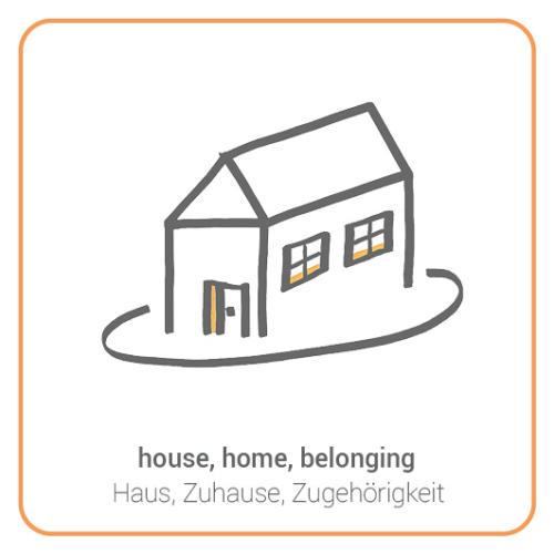 house, home, belonging