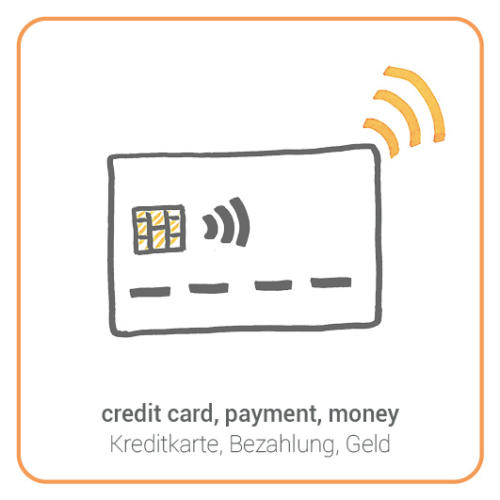 credit card, payment, money