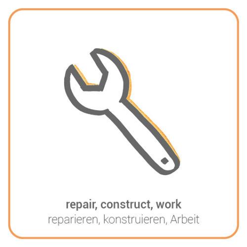 repair, construct, work