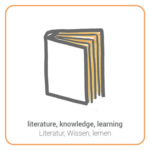 literature, knowledge, learning