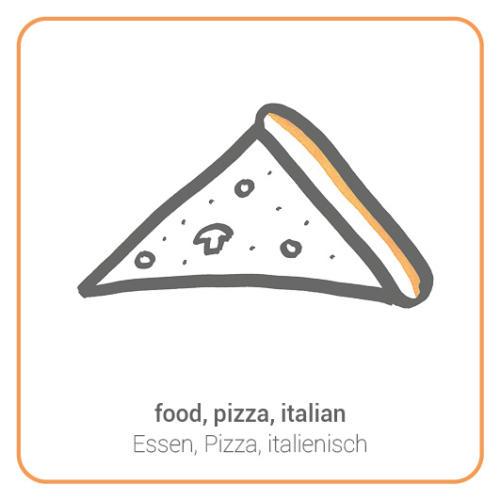 food, pizza, italian