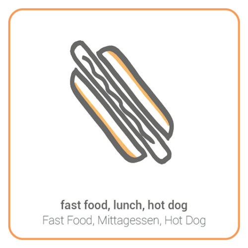 fast food, lunch, hot dog