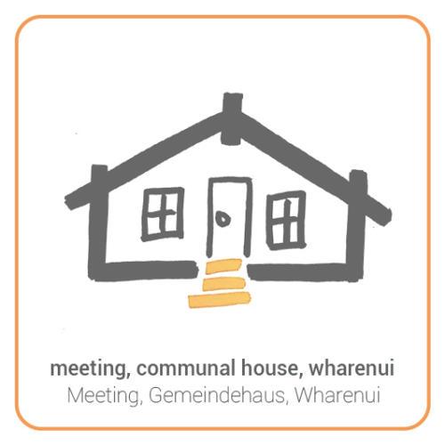meeting, communal house, wharenui