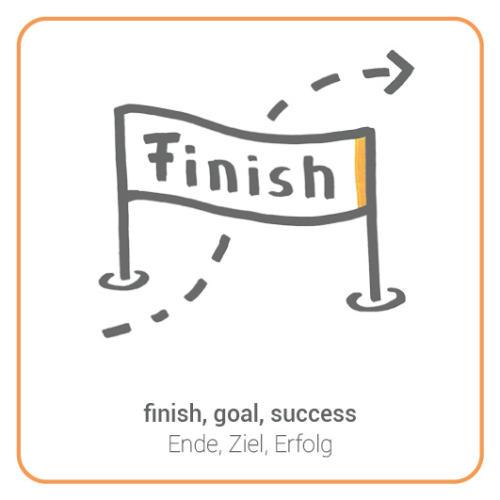 finish, goal, success