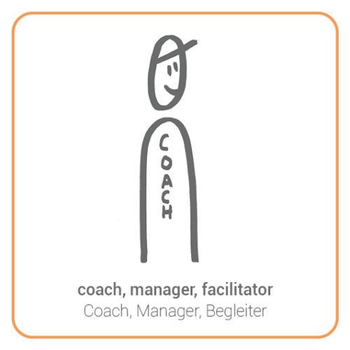 coach, manager, facilitator