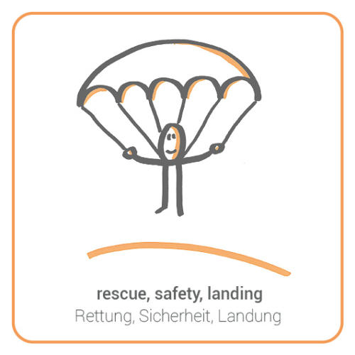 rescue, safety, landing