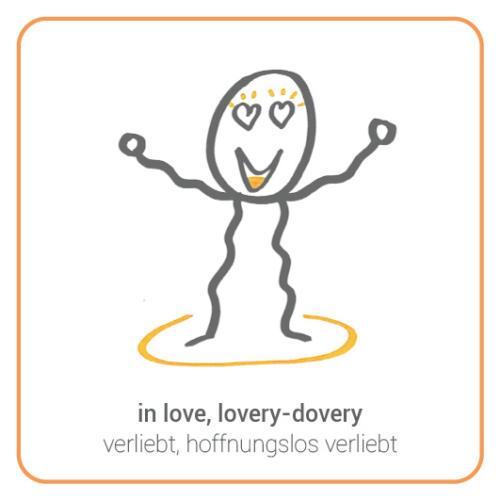 in love, lovery-dovery