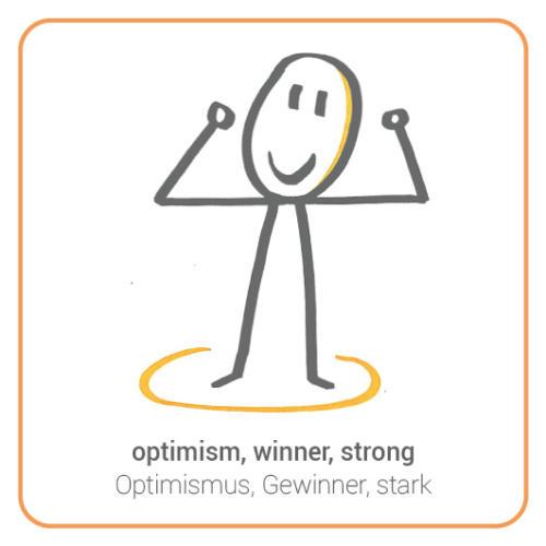 optimism, winner, strong