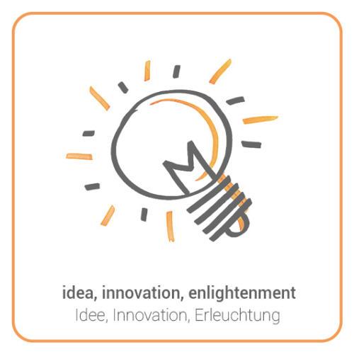 idea, innovation, enlightenment