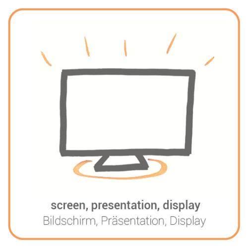 screen, presentation, display