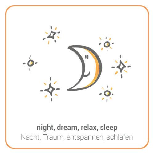 night, dream, relax, sleep