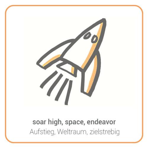 soar high, space, endeavor
