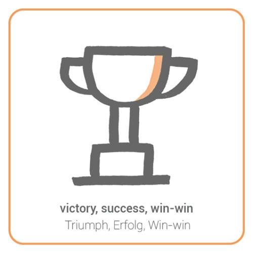 victory, success, win-win