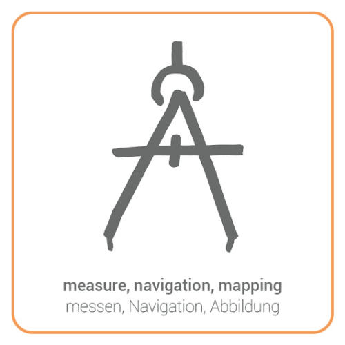 measure, navigation, mapping
