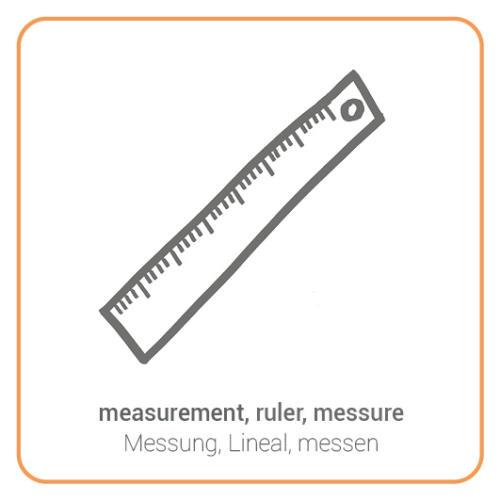 measurement, ruler, messure