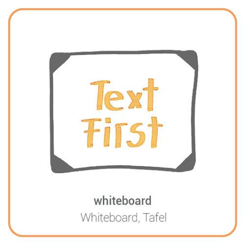 whiteboard, table